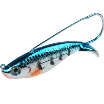 1Pcs VIB Fishing Lure 8.5cm 21.2g Anti Grass Fishing Wobbler Isca Artificial Bait Hard Lures Laser Body Lifelike Fish Tackle 2