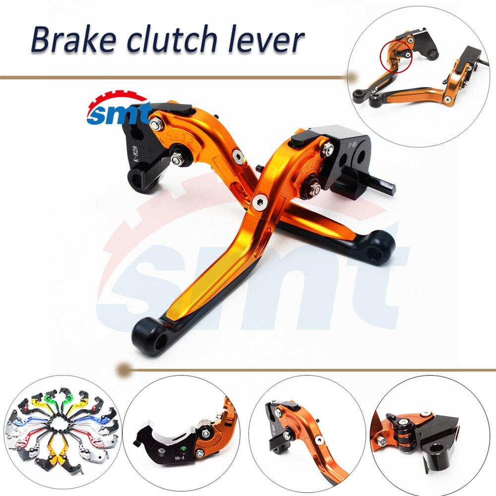 motorcycle brake lever xj6 NEW foldable extendable brake clutch levers For HONDA CB600F Hornet 2007/2008/2009/2010/2011 8 colors cnc folding foldable extendable brake clutch levers for honda cb650f cb 650f cb 650 f 2007 2014 2008 2009 2010 sliver