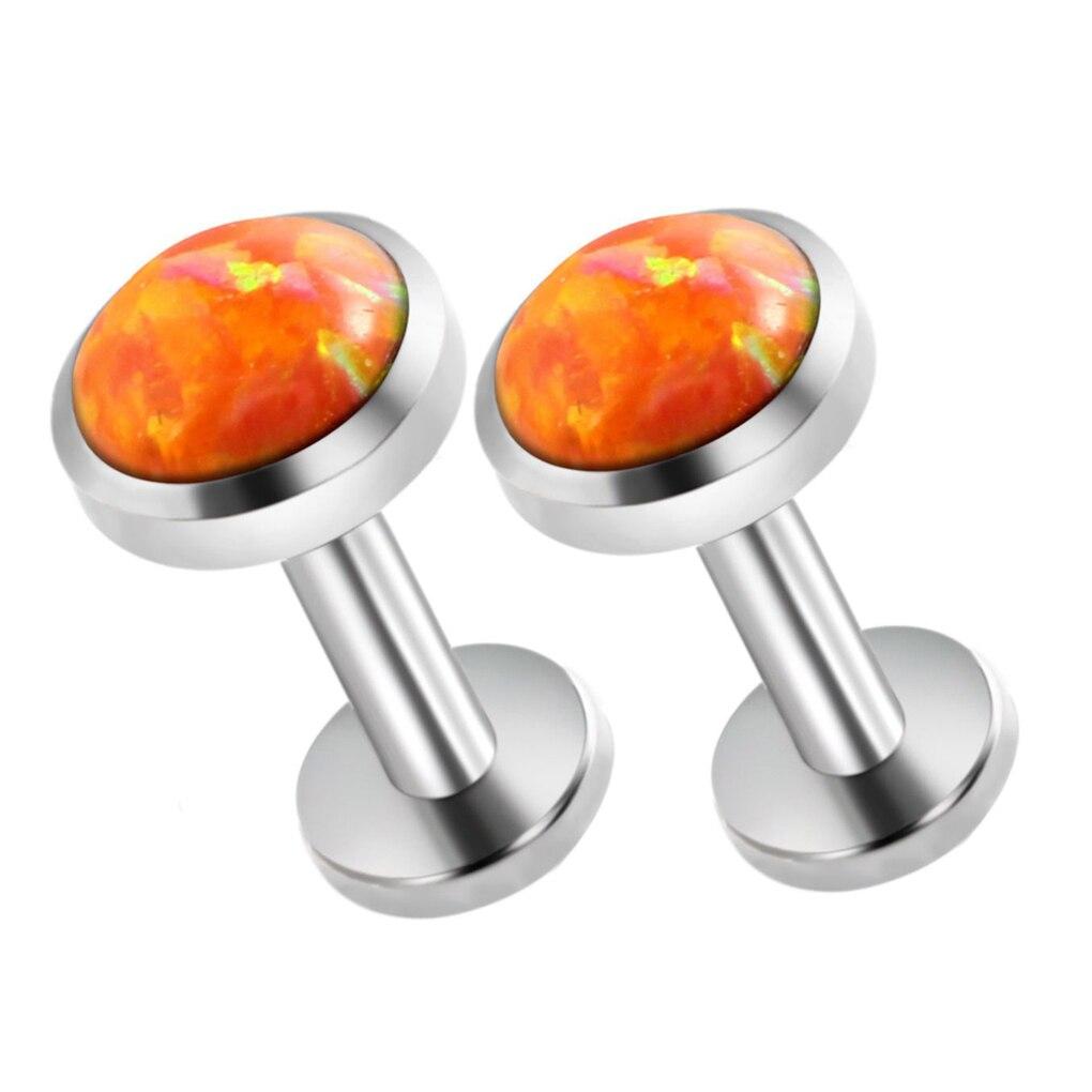 Stainless Steel Ear Piercing Rings Ear Stud Piercing Cartilage Ear Stud Earring Ear Piercing Ring Body Jewelry