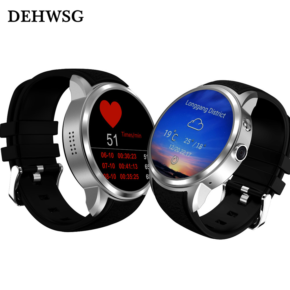 DEHWSG 2017 New X200 smart watch Android 5 1 OS MTK6580 watch phone support 3G WiFi