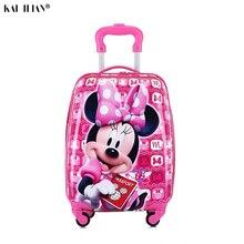 Детский Чемодан детский чемодан на колесиках для путешествий чемодан на колесиках чемодан для детей катящийся багаж чемодан детей путешествия Чемодан сумки cas