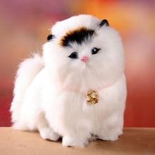 Прекрасный Электронный плюшевые Кошки милые игрушки животных кошка будет пиппи дети любимая игрушка Мягкая модель Куклы лучшие Рождественские подарки для дети