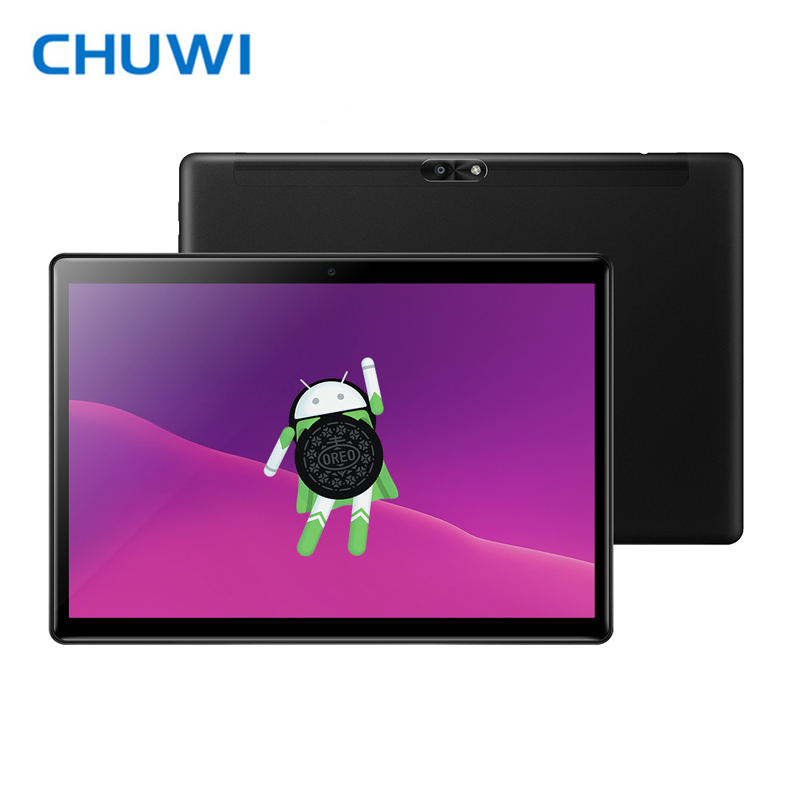 Original CHUWI Hi9 Air Tablet PC MT6797 X20 Deca Core 4GB RAM 64GB ROM Android 8.0 2K Screen Dual 4G Tablet 10.1 Inch