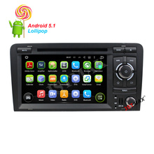 7″ Android 5.1 Quad Core  Car GPS Navigator dvd Player For Audi A3 / S3 With WIFI Bluetooth FM  & Supports OBD2 + Free Camera
