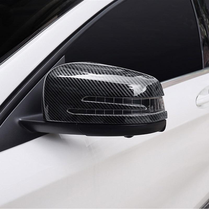 Side Mirror Cover for 2008-2015 Mercedes-Benz GLK Class X204 GLK300 GLK350 ABS