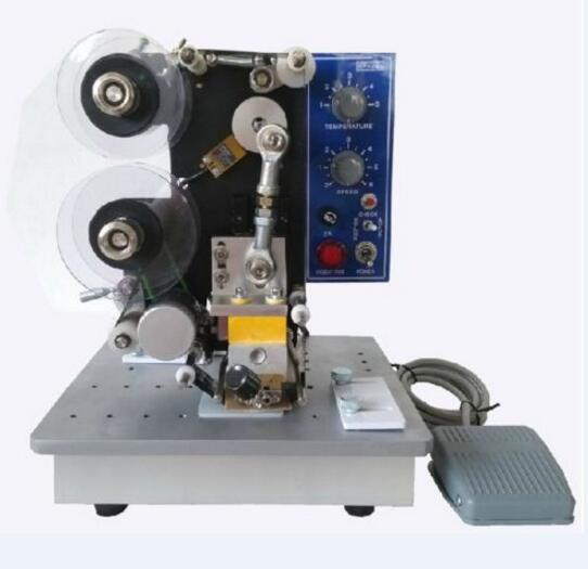 Semi-automatic Electric Hot Stamp Ribbon Coding Printer Machine Coder HP-241B semi automatic electric hot stamp ribbon coding printer machine coder hp 241b