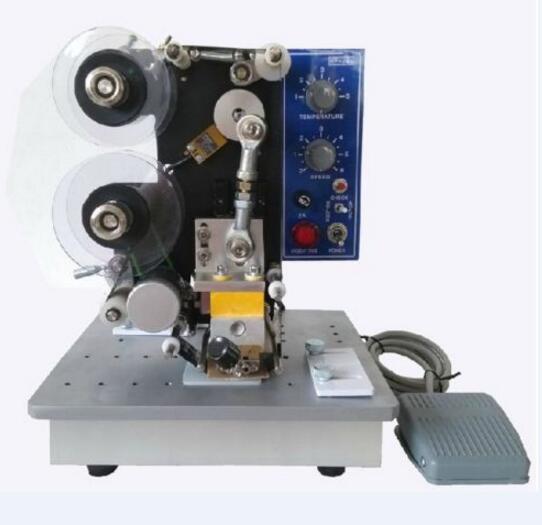 Semi Automatic Electric Hot Stamp Ribbon Coding Printer Machine Coder HP 241B