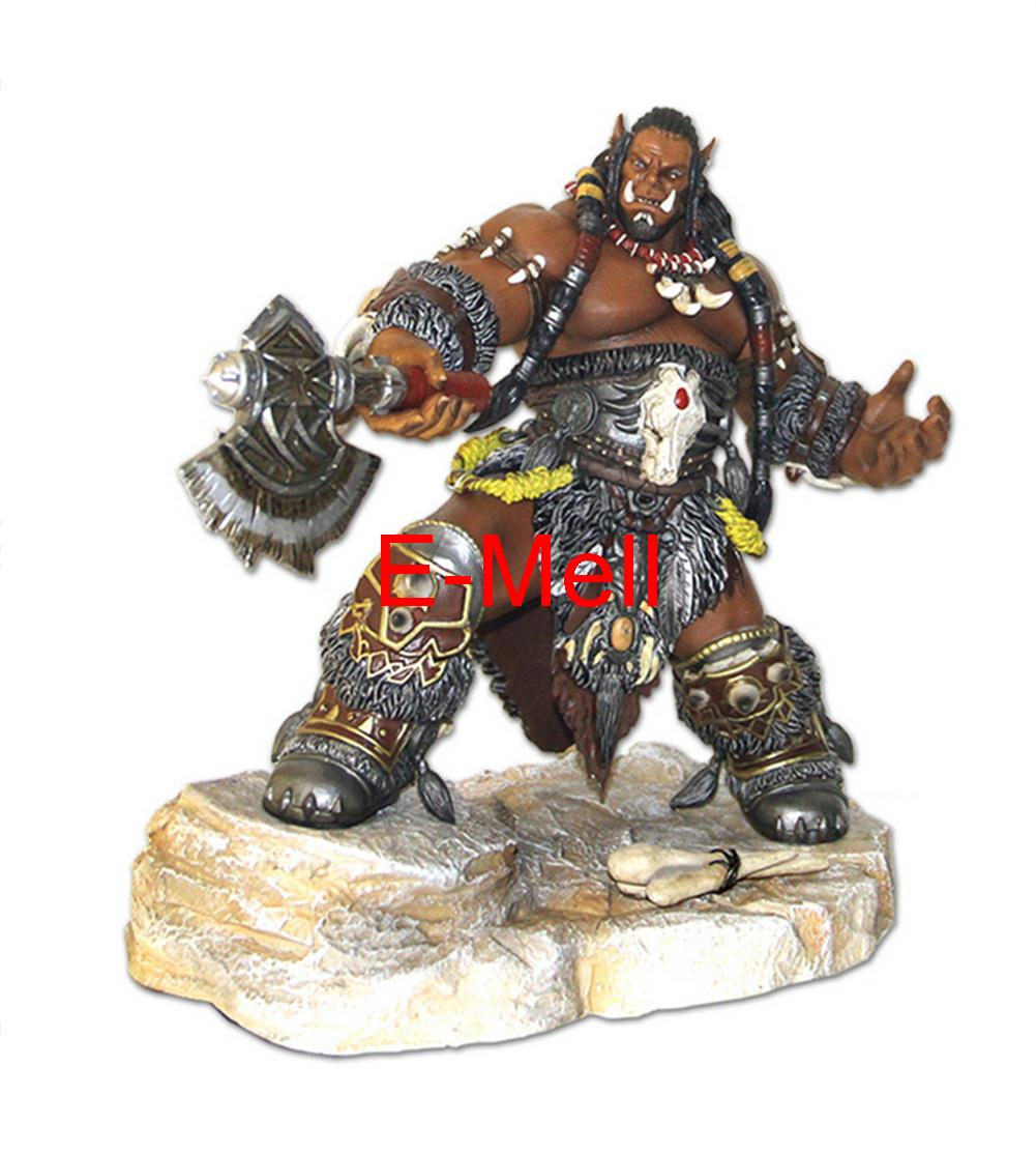 Cosplay Durotan 22cm/8.7'' Boxed GK Garage Kits Action Figures Toys Model cosplay durotan 22cm 8 7 boxed gk garage kits action figures toys model
