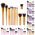 11Pcs/Set Hot sale Professional Makeup Tool Maquiagem Cosmetic Eyeshadow Foundation Concealer Brushes Set Kit
