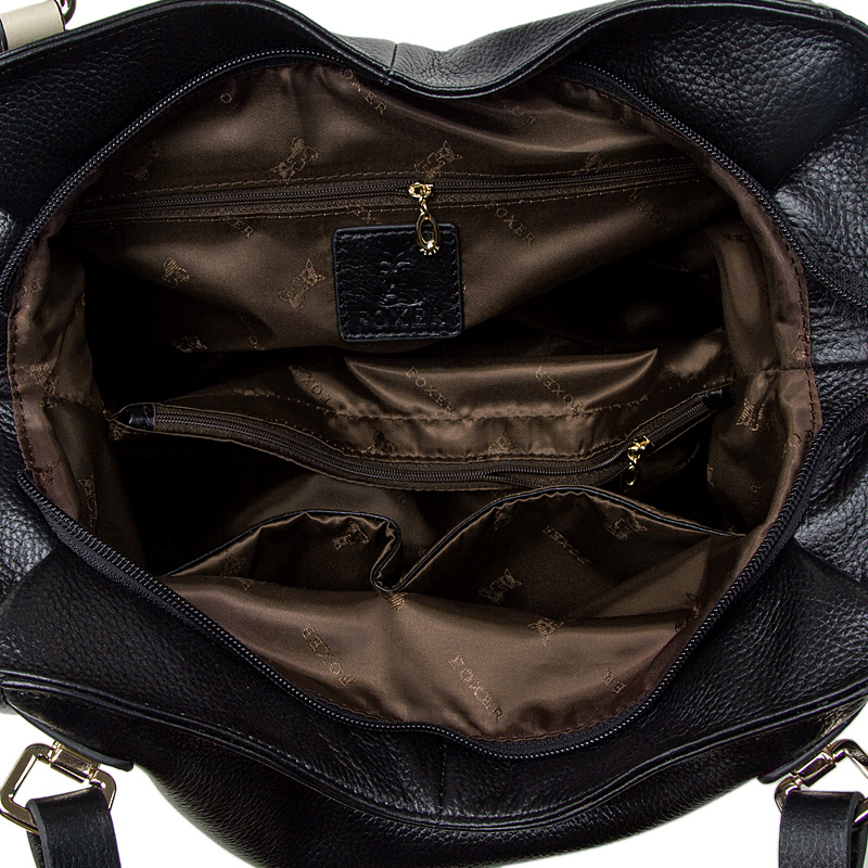 FOXER Brand Women Genuine Leather Shoulder Bag Ladies Handbag Female Luxury bags Women's Fashion Leather bags Tote for Women