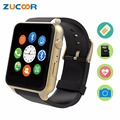 Waterproof Smart Watch WristWatch GT88 Heart Rate Monitor Fitness Tracker Support SIM Card Camera Pedometer For iOS Android Men