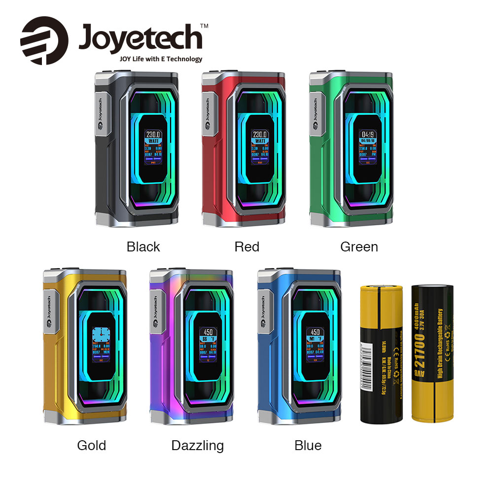 Original Joyetech ESPION Infinite 21700 230W TC Box MOD with 8000mAh Battery & Huge Display for ProCore Conquer Atomizer Box Mod