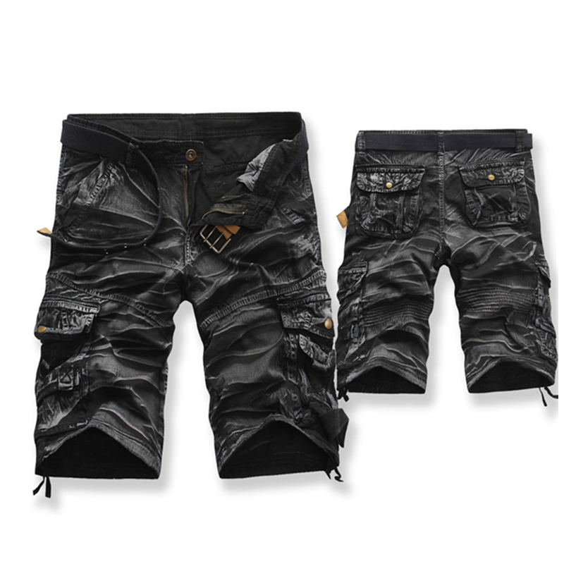 Cargo   Shorts   Brand Fashion Mens Bermuda   Short   Men Homme Casual Cargo Beach   Shorts   Men Summer Beachwear Military Camouflage   Short