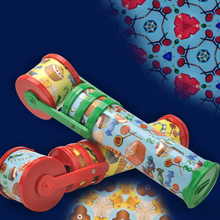 2017 1 Pcs Kaleidoscope Magic Toys Children Educational Science Classic Toys for chilldren Large Twisting Kaleidoscopes Rotating