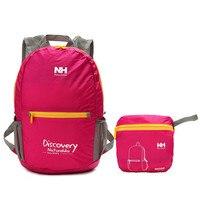 Naturehike 15L 210D Waterproof Nylon Backpack Camping Ultralight Rucksack Backpack Folding Travel Shoulder Storage Bag Pack