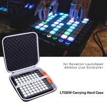 Funda rígida de transporte LTGEM EVA Black para el controlador Ableton Launchpad de Novation(China)