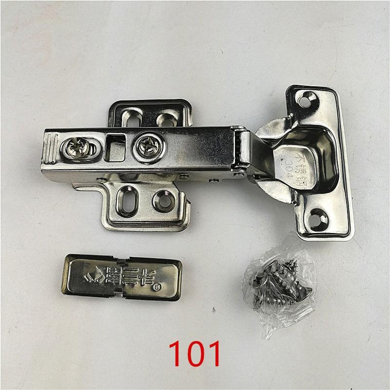 101 Full Overlay Stainless Steel Hinges