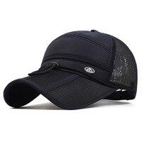 2016 Quick Dry Unisex Baseball Caps Motorcycle Cap Golf Hat Men Women Outdoor Casual Summer Hat