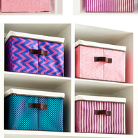 Rectangle Large Capacity Oxford Cloth Folding Storage Box Closet Organizer Waterproof Toy Clothing Containers
