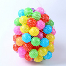 10pcs/lot Eco-Friendly Colorful Soft Plastic Water Pool Ocean Wave Ball Baby Swim Funny Toys Stress Air Ball Outdoor Fun Sports