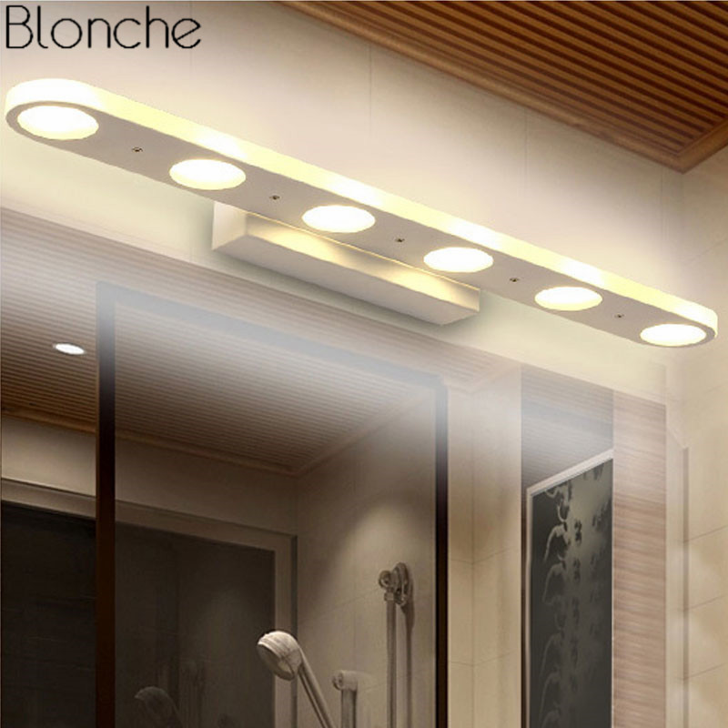 12/18/24w Led Mirror Wall Lamp Bathroom Waterproof Wall Vanity Light Fixtures For Dressing Table/bedroom Mordern Mirror Sconces Firm In Structure Led Indoor Wall Lamps Led Lamps