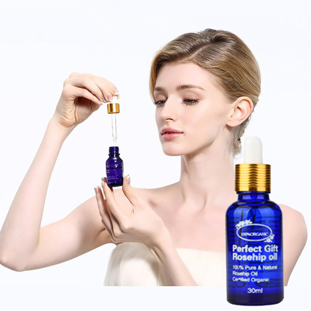 Beauty Organic Rosehip Oil For Hair & Face Organic Pure Natural Cold Pressed Unrefined Oil цена