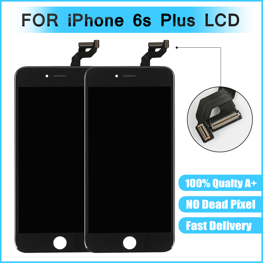 Lcd-Screen-Display IPhone Assembly Digitizer For 6s-Plus With 100%Test-Free DHL White
