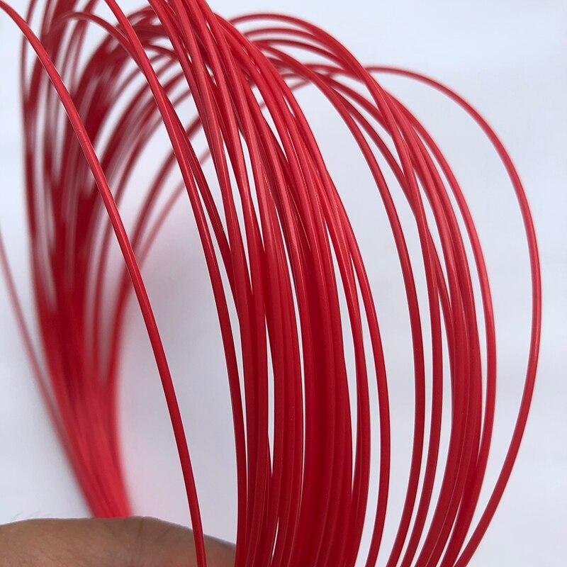 Made In Japan Hexagonal Tennis String 1.25mm Durable Power Hexa Tennis Racket String  Free Shipping