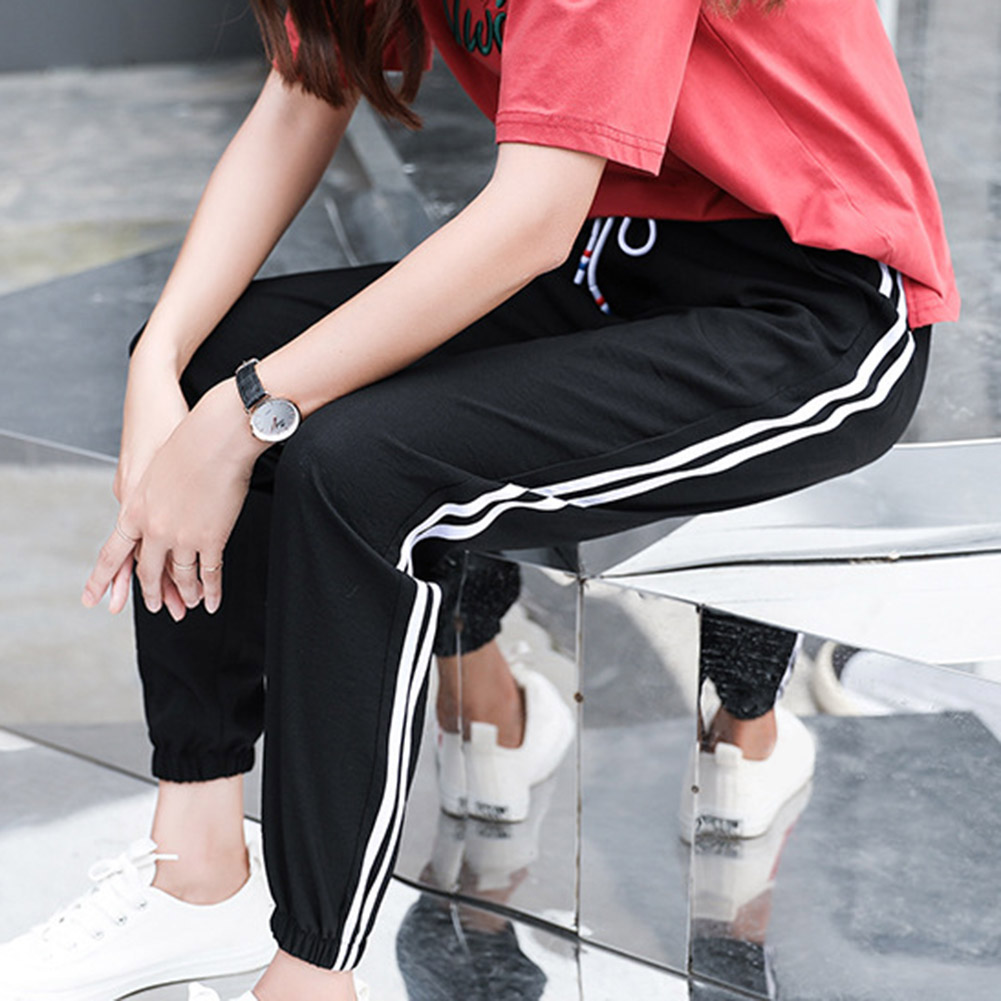2019 Autumn Spring Sweatpants Casual Harem Pants Women Loose Trousers Plus Size Pants Female Runing Sport Pant