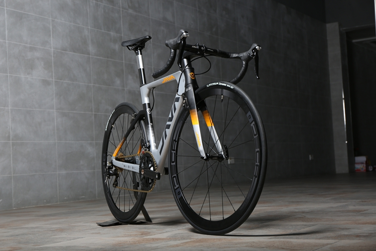 JAVA 700C Road Bike  105 5800 Racing Bicycle Upgraded To DECAF Ultralight Crank Set 500mm 530mm 550mm