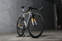 JAVA 700C Road Bike Shi mano 105 5800 Racing Bicycle upgraded to DECAF Ultralight crank set 500mm 530mm 550mm
