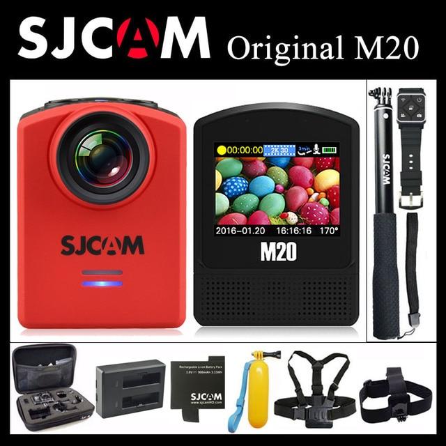 Оригинал SJCAM M20 Камера Action Sports 4 К Wi-Fi Гироскопа Открытый мини SJ видеокамеры 2160 P HD 16MP Камера 30 м Водонепроницаемый Экстрим DV