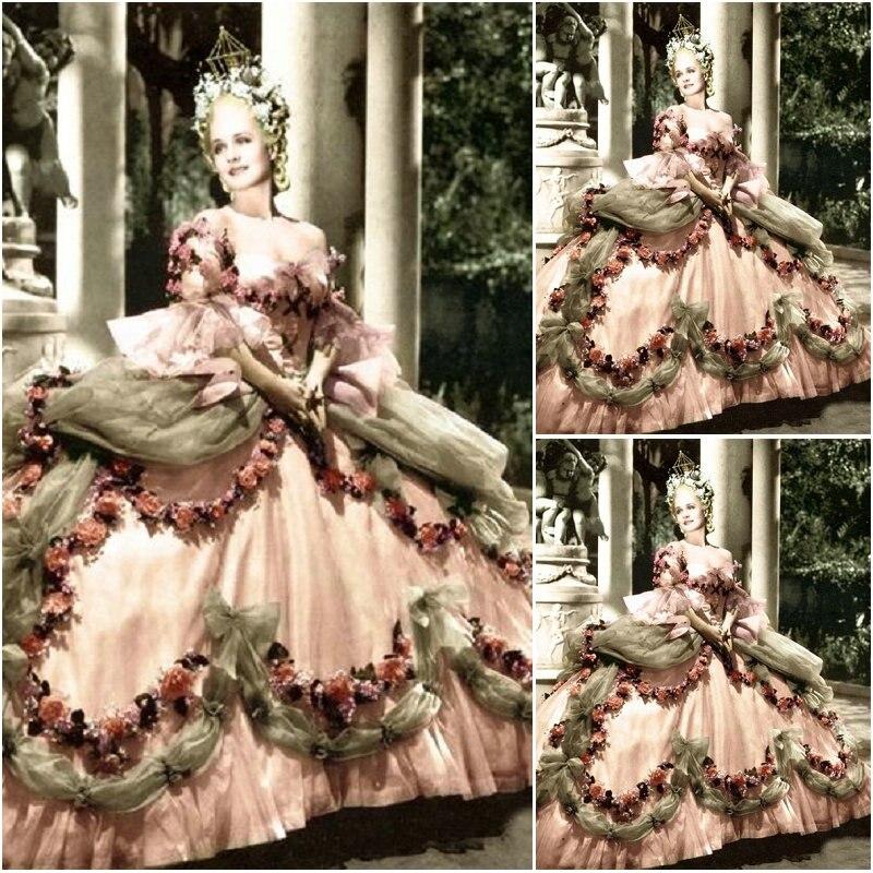 18 siècle guerre civile sud Belle robe robe de soirée/robes Lolita victoriennes/robe scarlett US6-26 SC-1048