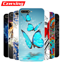 For Huawei Y6 2018 Case Huawei Y6 Prime 2018 Case Silicone TPU Soft Cover Phone Case For Huawei Y6 2018 Y 6 Y6Prime Y62018 Case чехол для huawei y6 prime 2018 caseguru magnetic case фиолетовый