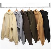 good quality justin bieber wear Men sweatshirts men Hip Hop pure Sweatshirts wear west Clothing fleece thick hoodie sweatshirt