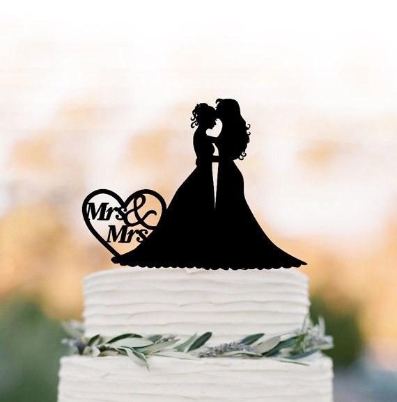 Lesben Hochzeitstorte Topper Mrs Und Frau Gleichen Geschlechts
