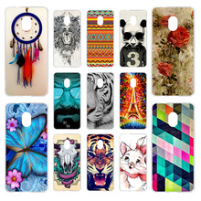 Anunob Soft Phone Case For Alcatel 1C 2019 Silicone TPU Cover 5003D 5.0  Painted Transparent Bags