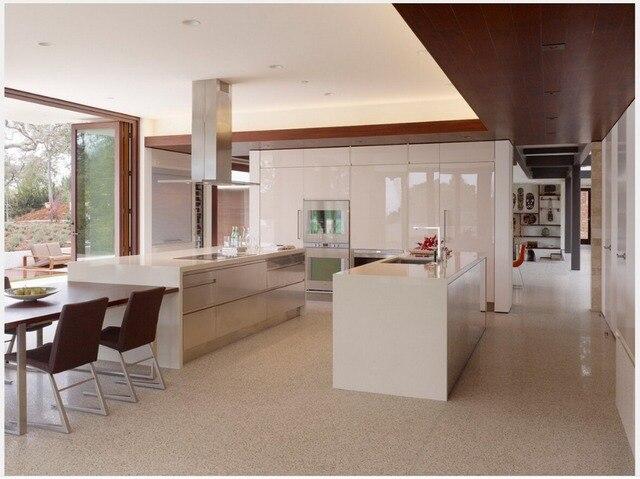 2015 diseño libre muebles para cocina lacado blanco gabinetes de ...