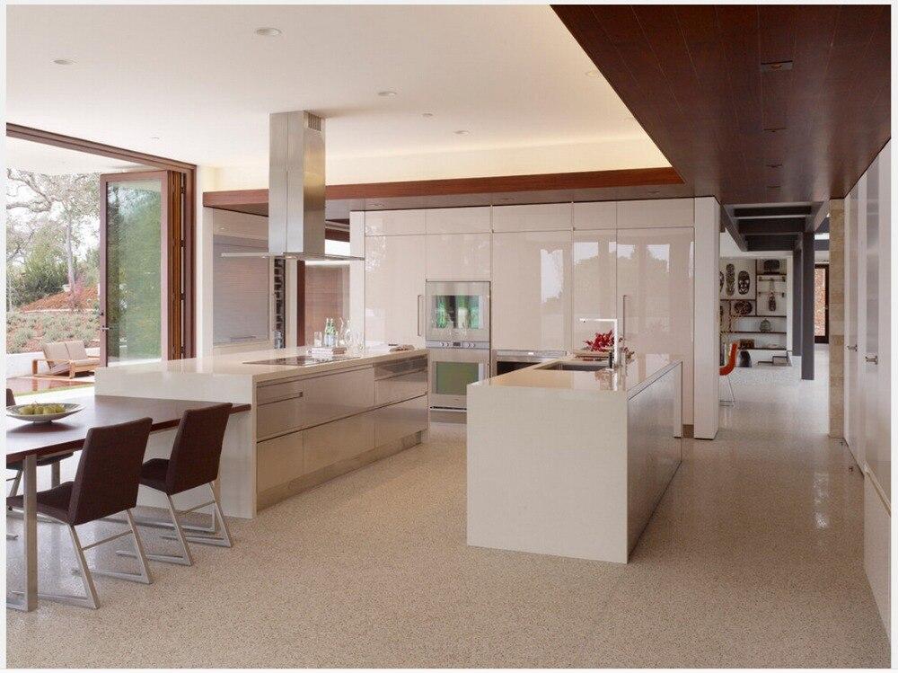 diseo libre de muebles para la sala de cocina gabinetes de cocina mueble de cocina modular laca blanca ventas calientes