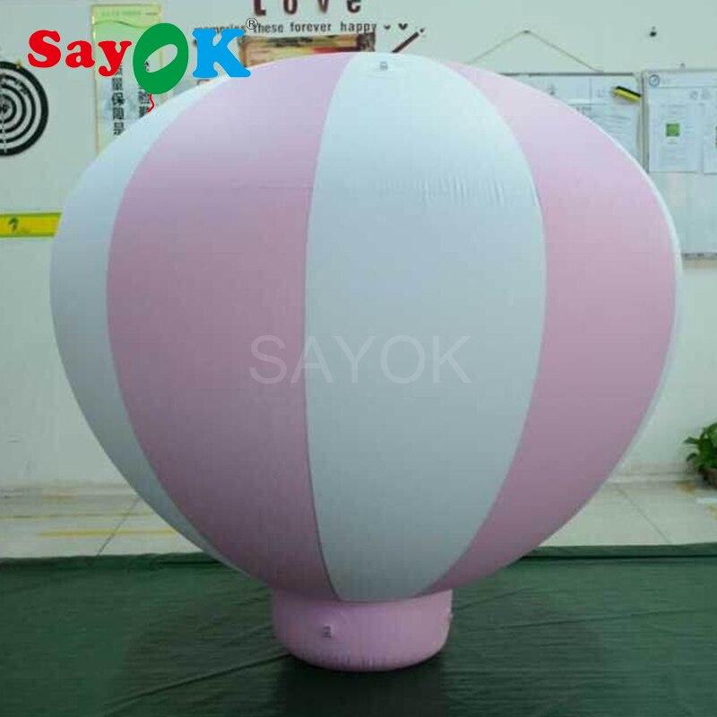 Ballons suspendus gonflables de ballon à air chaud de PVC de 1.5m (5ft) H pour l'anniversaire de bébé/partie/événement/spectacle/publicité/exposition-in Ballons et accessoires from Maison & Animalerie    1