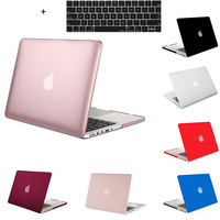 Matte Soft Touch Plastic Protective Shell Hard Case Cover For MacBook Air 11 13 12 Pro