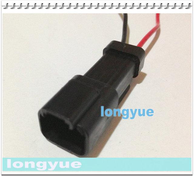 longyue 10pcs universal 2 way sealed repair connector pigtail wiring