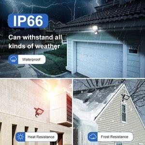 Image 3 - 10W LED Flood Light Motion Sensor Waterproof AC110V/220V LED Floodlight Projector Plastic Reflector Lamp Outdoor Garden Light