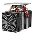 12 в 120 Вт термоэлектрический Пельтье комплект системы охлаждения холодильника полупроводниковый охладитель большой радиатор холодной про...