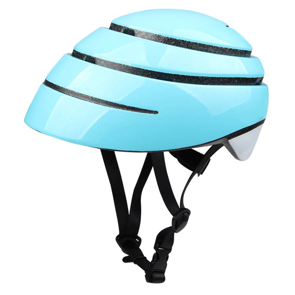 Folding Cycling Helmet Mountain Road Bike Safety Helmet For Men And Women Couple Leisure Riding promend mountain bike riding helmet integrated safety hat road cycling equipment for men and women