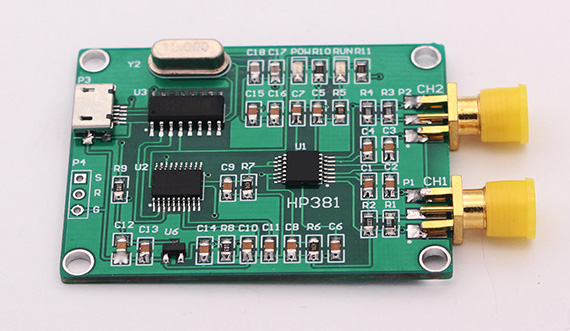 New Version USB RF Gain and Phase Detector RF/IF Detector 0 ~ 2700MHz evm gps r4 rf if and rfid mr li