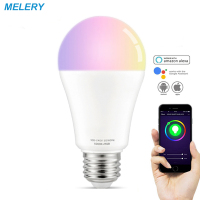 WiFi Smart LED Light Bulbs E27 12W Lamp Equal 90W RGB Cool White Colour Changing Mood Light Homekit Works with Alexa Google Home