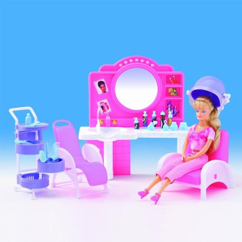 Hair Salon For Barbie Doll House