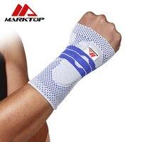 Hỗ Trợ cổ tay Bảo Vệ 1 Mảnh Wristband Unisex Bracers Bóng Rổ Bóng Đá Tennis Cầu Lông Thể Thao Bảo Vệ Cổ Tay Men và Wome