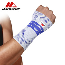 Wrist Support Protect 1Piece Wristband Unisex Bracers Basketball Football Tennis Badminton Sports Protection Men and Wome